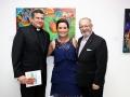 Junto al Reverendo Padre Jorge Rojas y el Arquitecto César Iván Feris-Iglesias, Presidente del Programa APEC Cultural